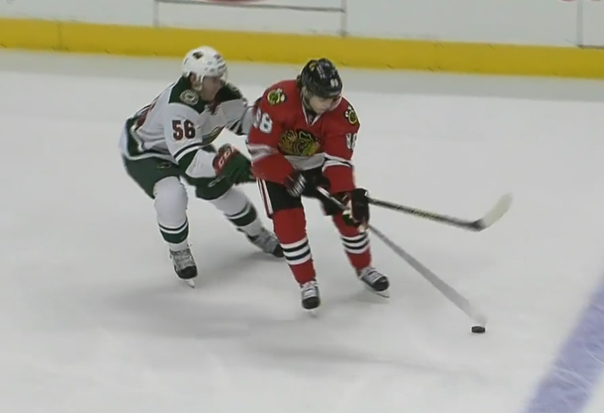 Wild Unhappy with Late Penalty That Led to GWG
