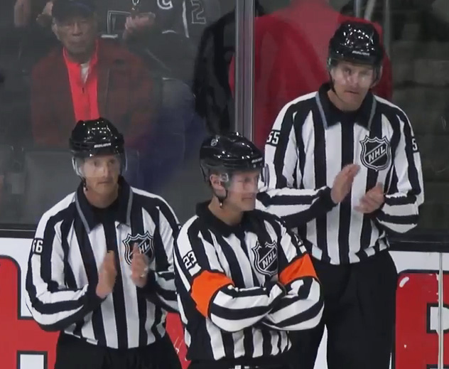 Tonight's NHL Referees & Linesmen – 2/14/16