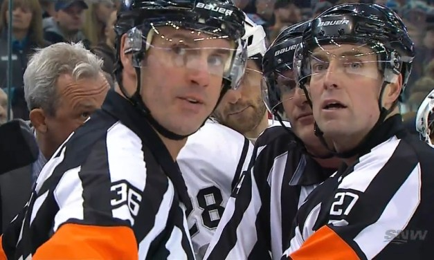 Tonight's NHL Referees & Linesmen – 1/26/16