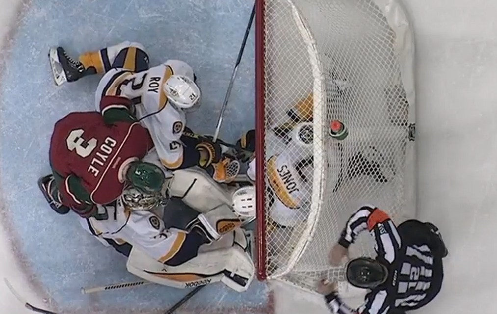 Wild's Scandella Scores After Video Review