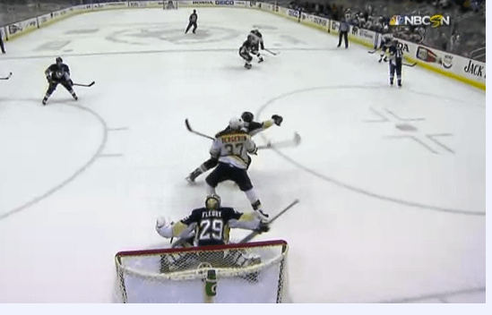 Bergeron's OT Deflection