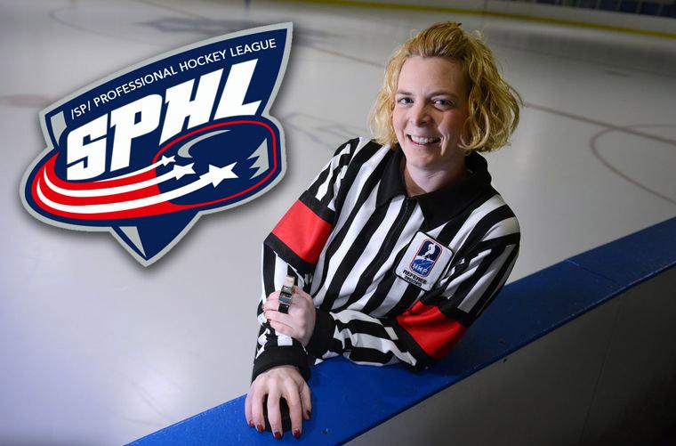 Female Referees Blair & Huntley to Work SPHL Game