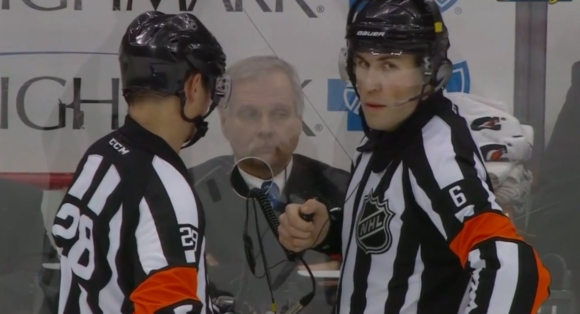 Tonight's NHL Referees & Linesmen – 4/1/15