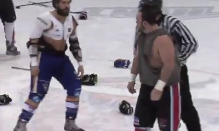 Brawl Erupts During Warmups at LNAH Game