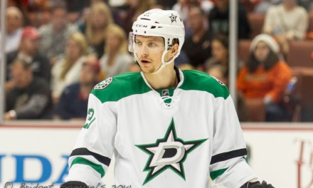 Stars' Roussel Suspended 2 Games for Cross-Checking