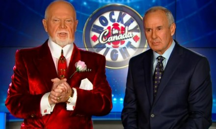 Don Cherry Blames Refs for Goal on Leafs' Bernier