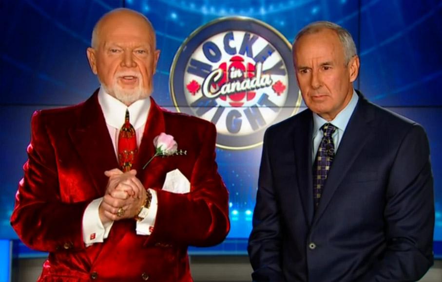 Don Cherry Blames Refs for Goal on Leafs' Bernier