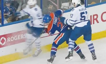 Leafs' Kadri Suspended 4 Games for Hit on Fraser