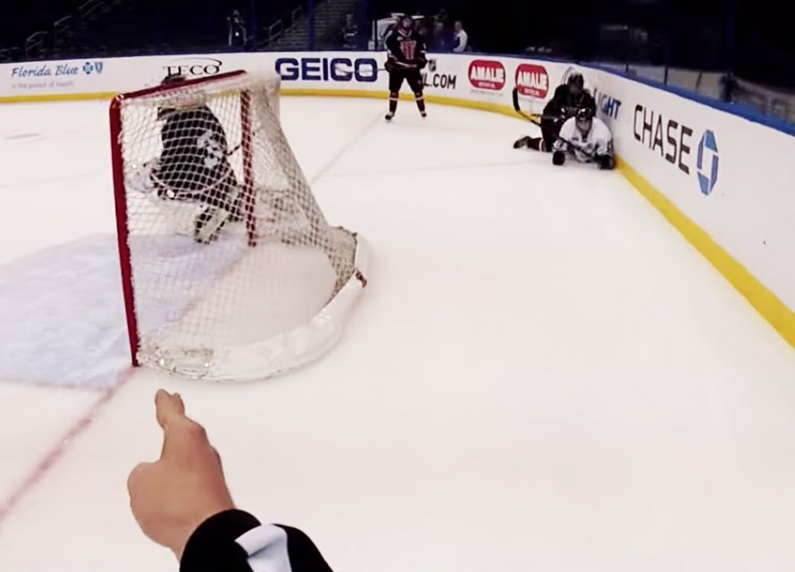 Great Ref-Cam View of USF Goal