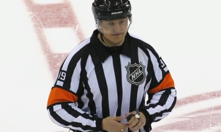 Russian Referee Evgeny Romasko Learns On The Fly