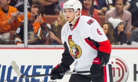 Sens' Ryan Penalized for Playing Puck from Bench