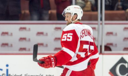 Wings' Kronwall Suspended 1 Game for Hit on Lightning's Kucherov