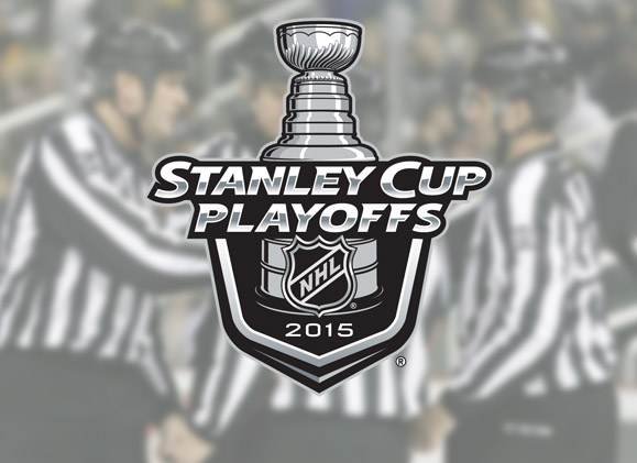 2015 Stanley Cup Playoff Referees & Linesmen for Round 3