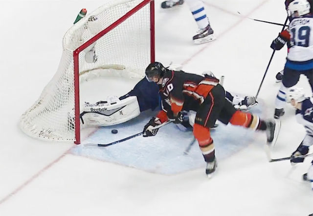 Corey Perry's Goal Counts, Stoner's Penalty Stands