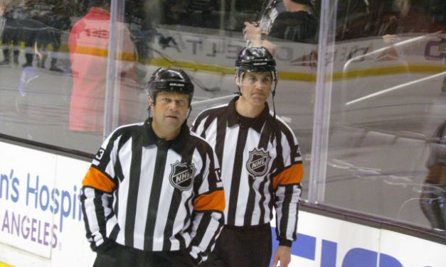 Tonight's NHL Referees & Linesmen – 10/6/17