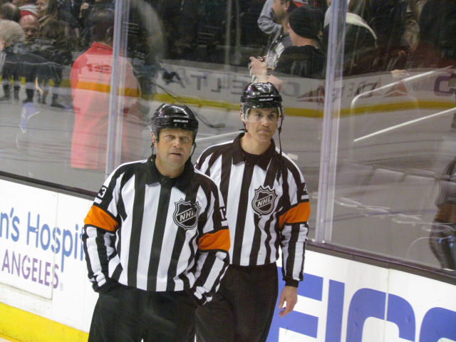 Tonight's NHL Playoff Referees & Linesmen – 5/2/15