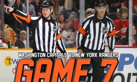 Tonight's NHL Playoff Referees & Linesmen – 5/13/15