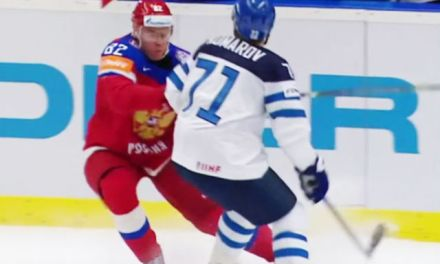 IIHF Worlds: Komarov Ejected on Phantom Kneeing Call