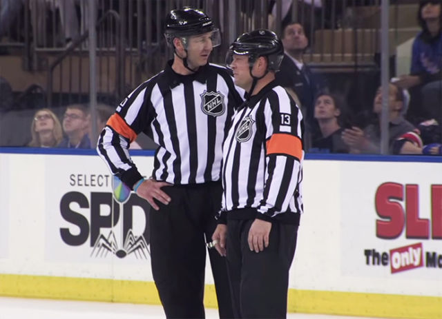 Tonight's NHL Referees & Linesmen – 2/7/16
