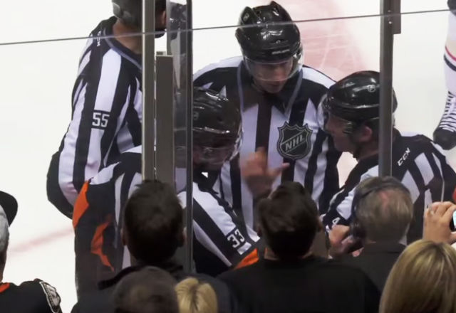 Tonight's NHL Referees & Linesmen – 10/15/15