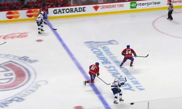 Offside Play Leads to Lightning Game Winner vs. Habs
