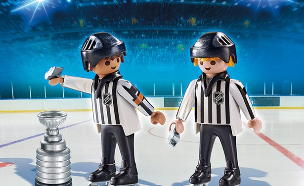 NHL Referees, Linesmen Featured in New Playmobil Hockey Toys