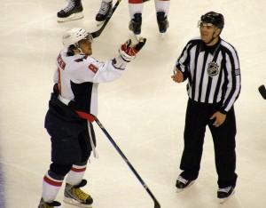 NHL Linesman Thor Nelson