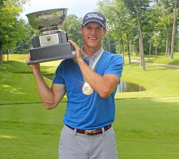 NHL Referee Garrett Rank Wins Ontario Mid-Amateur Golf Tournament