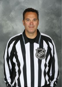 NHL Linesman Thor Nelson