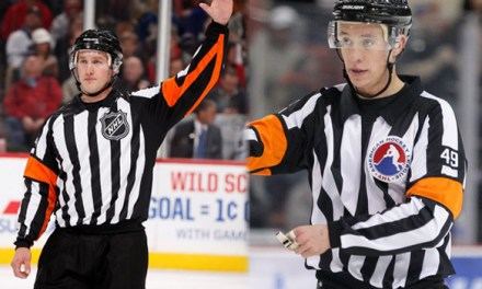 NHL Promotes Referee TJ Luxmore and Linesman Trent Knorr