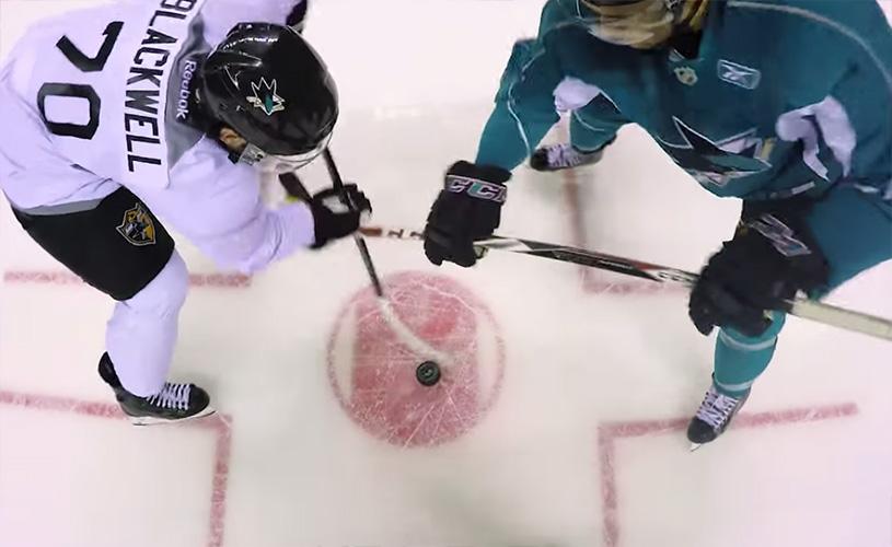 Ref Cam for Sharks' Prospect Game