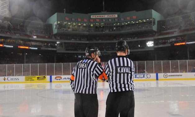 Referee Keith Kaval Becomes First North American Ref In KHL