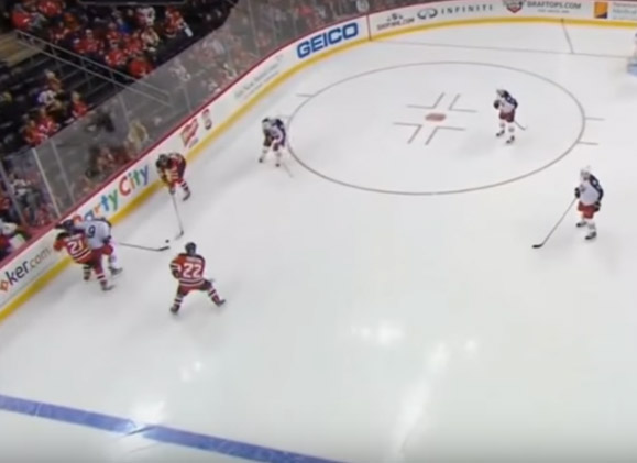 Devils' Henrique Has Goal Disallowed After Intended Whistle