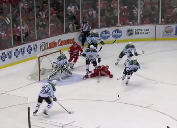 Red Wings' Pulkkinen First Fined For Diving
