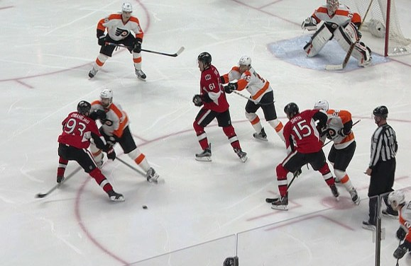 Flyers' Gudas Suspended Three Games for Illegal Check to Head