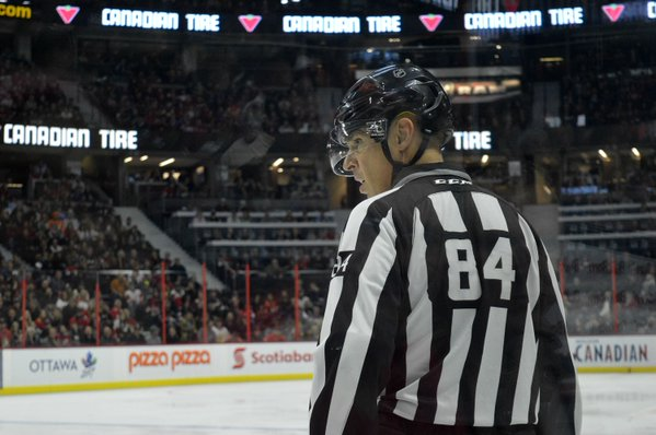 Tonight's NHL Referees & Linesmen – 2/2/16
