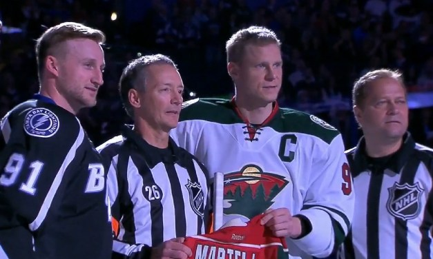 NHL Referee Rob Martell Works 1000th – and Final – NHL Game