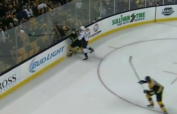 Capitals' Sill Suspended for Hit on Bruins' McQuaid