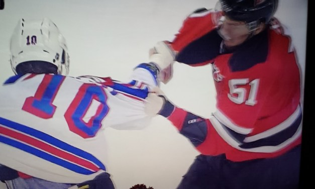 Rangers' Miller Given Match Penalty for Tape on Hands