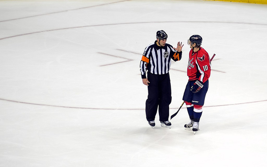 Referee Francois St-Laurent Returns to the NHL
