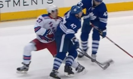 Leafs' Komarov Faces Hearing For Hit on Rangers' McDonagh