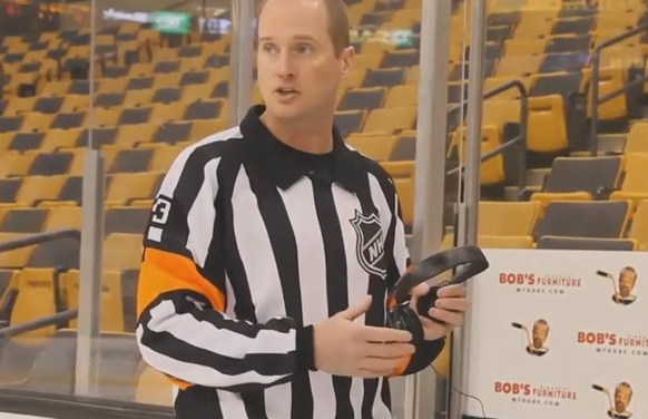 Referee Kevin Pollock Explains Coach's Challenges