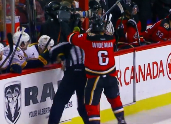 NHL Challenges Arbitrator's Decision On Wideman Suspension
