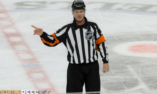 Tonight's NHL Referees & Linesmen – 3/29/16
