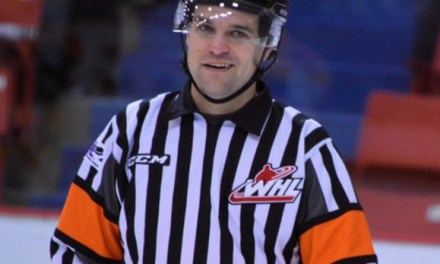 WHL Referee Patrick Gagnon Hangs Up The Skates