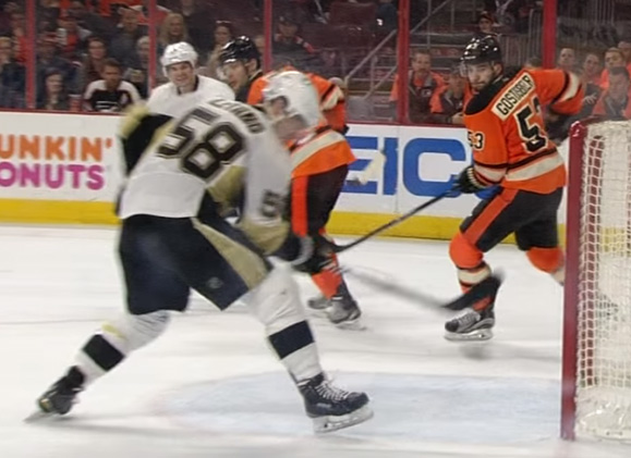 Letang's Goal Waved Off, Confirmed, Eventually Overturned