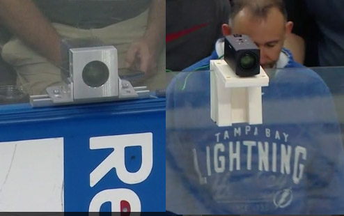 The NHL's new blueline cameras to assist with Coach's Challenges for offside plays