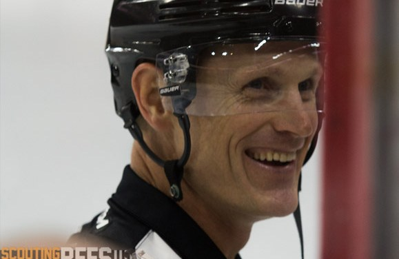 Referee Dan O'Rourke Honored for 1000th NHL Game