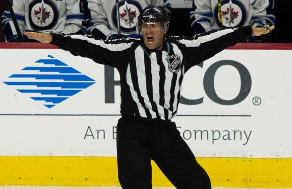 Tonight's NHL Referees & Linesmen – 4/9/16