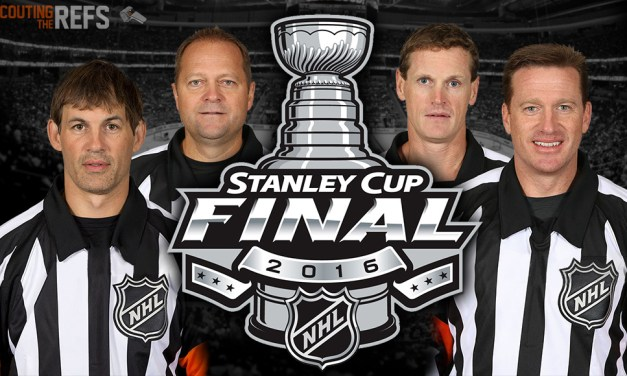 Tonight's NHL Stanley Cup Final Referees & Linesmen – Game 1